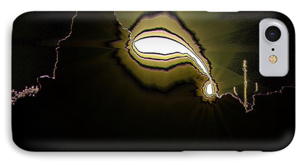 The Sun Over A Jagged Hill IPhone Case by Jeff Swan