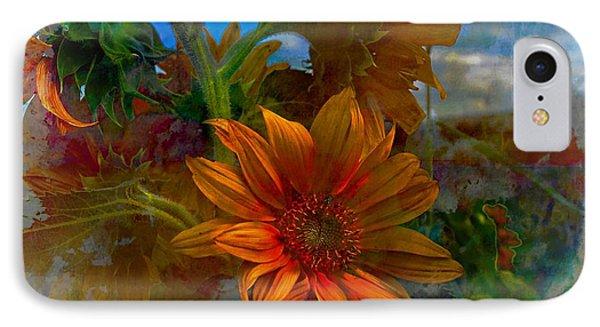 The Sunflower IPhone Case by John  Kolenberg