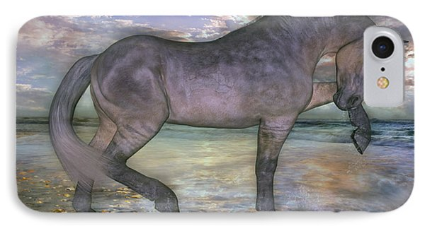 The Sunrise Horse IPhone Case by Betsy Knapp