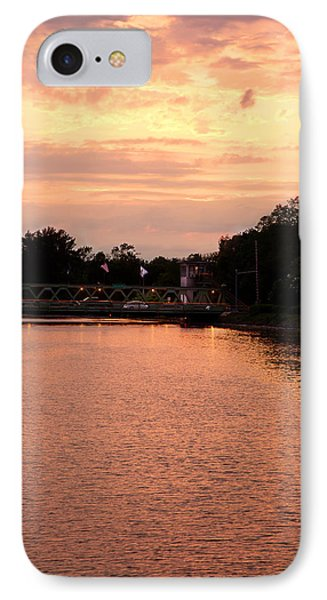 IPhone Case featuring the photograph The Sunset by Courtney Webster