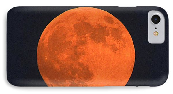 The Super Moon Phone Case by Marcia Lee Jones