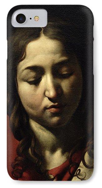 The Supper At Emmaus IPhone Case by Michelangelo Merisi da Caravaggio