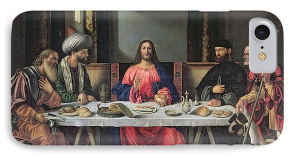 The Supper At Emmaus Phone Case by Vittore Carpaccio