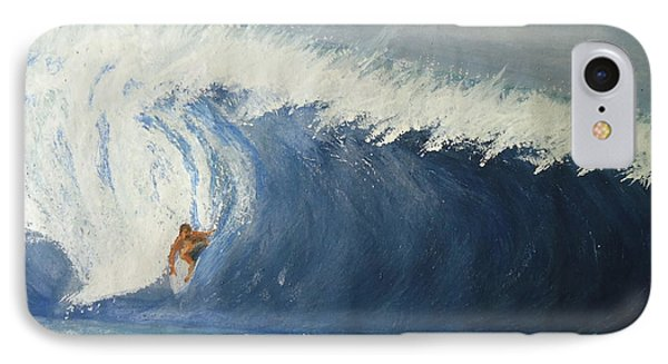 The Surfing Phone Case by Fladelita Messerli-