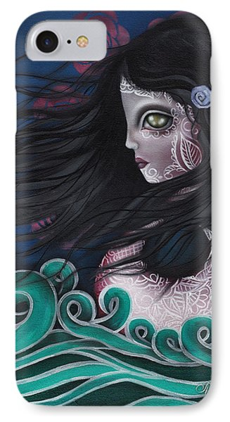 The Swan Phone Case by  Abril Andrade Griffith