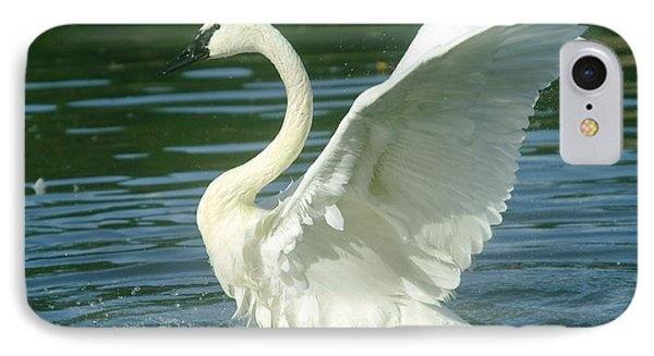 The Swan Rises  Phone Case by Jeff Swan