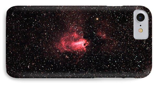 The Swanomega Nebula IPhone Case by John Chumack