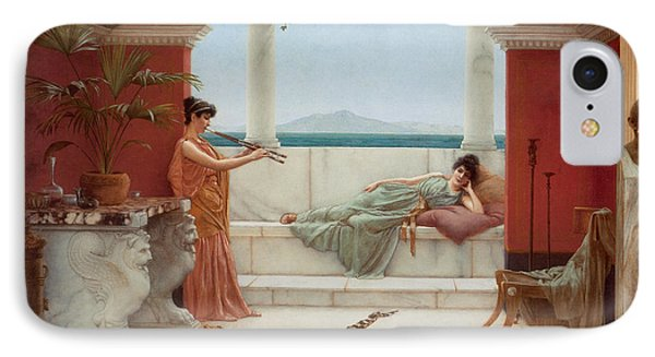 The Sweet Siesta Of A Summer Day IPhone Case by John William Godward