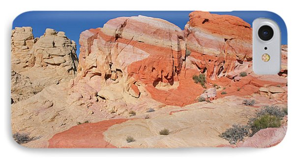 The Swoosh At The Valley Of Fire Phone Case by Steve Wolfe