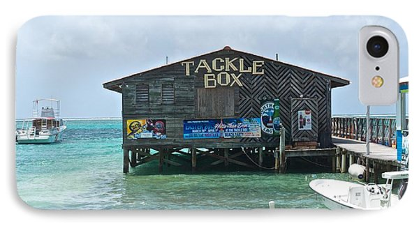 The Tackle Box Sign Phone Case by Kristina Deane