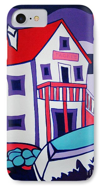 The Tackle House IPhone Case by Joyce Gebauer