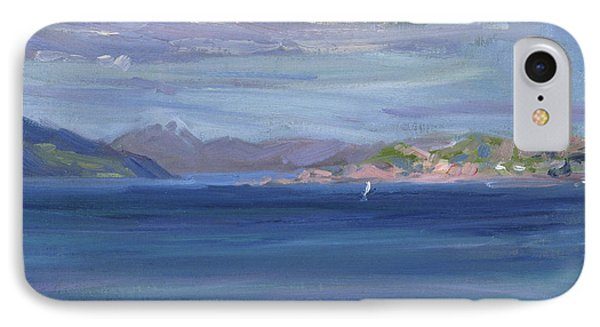The Tail Of Mull From Iona IPhone Case by Francis Campbell Boileau Cadell