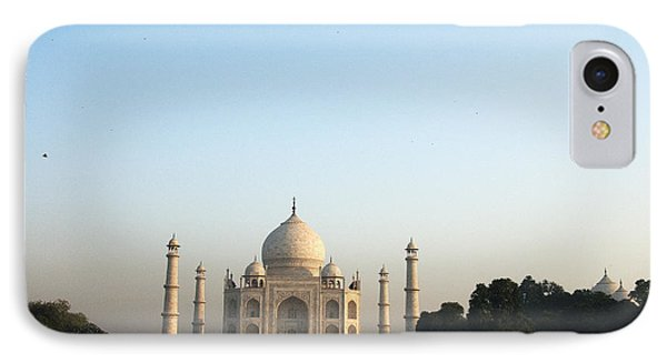 The Taj. Early Morning IPhone Case by Rajiv Chopra