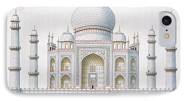 The Taj Mahal IPhone Case by German School