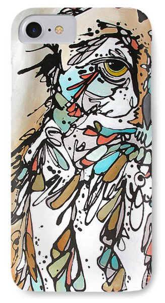 IPhone Case featuring the painting The Teacher by Nicole Gaitan