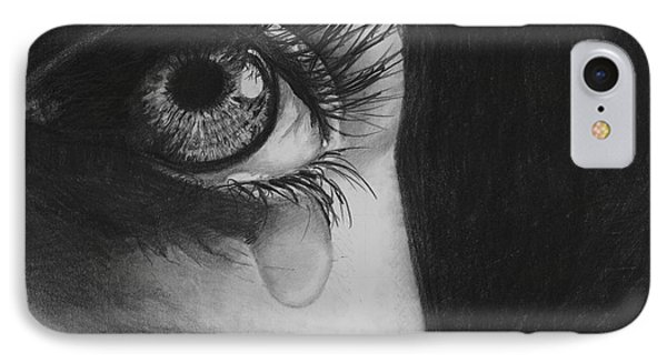 The Tear 2 Phone Case by Andrew Dyson