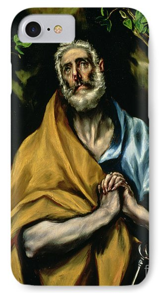 The Tears Of St Peter Phone Case by El Greco Domenico Theotocopuli