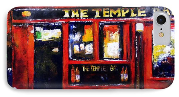 The Temple Bar IPhone Case by Marti Green