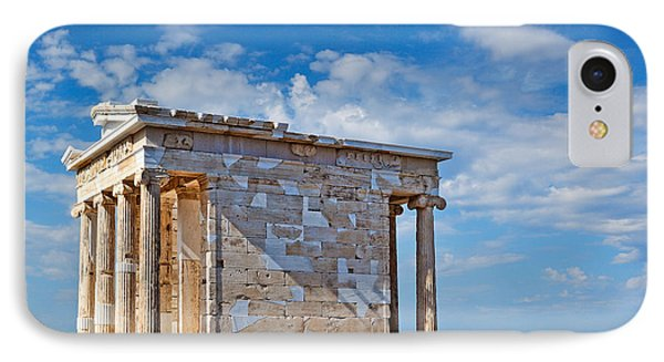 The Temple Of Athena Nike - Greece Phone Case by Constantinos Iliopoulos