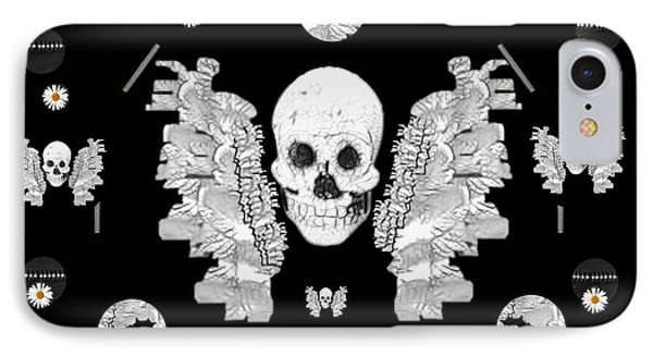 The Temple Of Skulls Phone Case by Pepita Selles