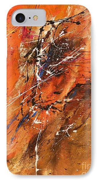 The Temptation -abstract Art Phone Case by Ismeta Gruenwald