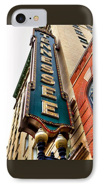 The Tennessee Theatre - Knoxville Tennessee IPhone Case by David Patterson