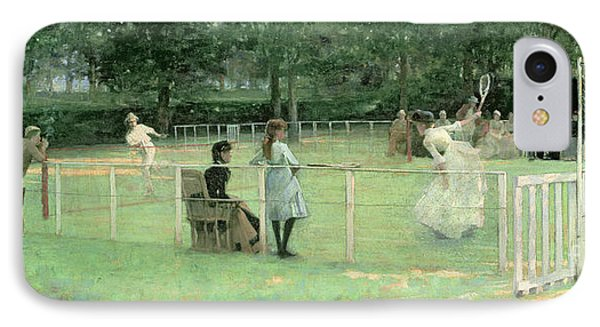 The Tennis Party IPhone Case by Sir John Lavery
