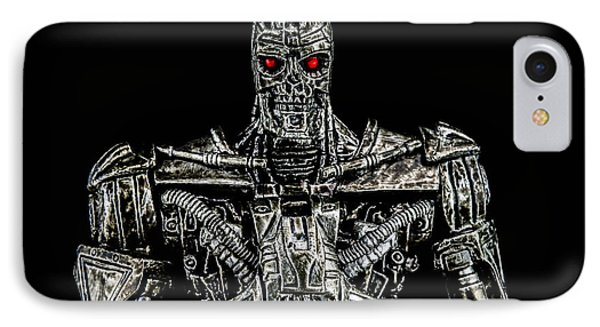 The Terminator  IPhone Case by Tommytechno Sweden