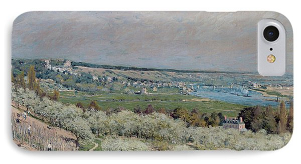 The Terrace At Saint Germain Phone Case by Alfred Sisley