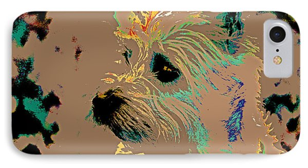The Terrier IPhone Case by Lynn Sprowl
