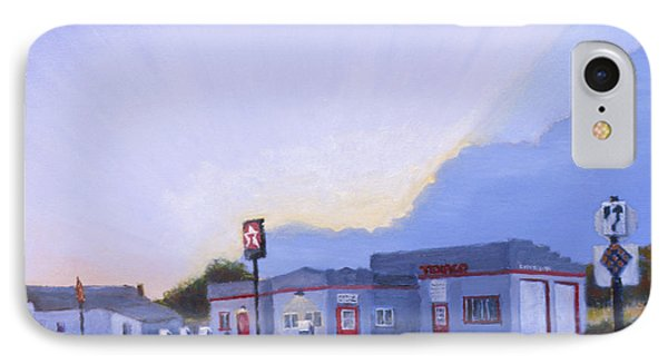 The Texaco In Potter IPhone Case by Jerry McElroy