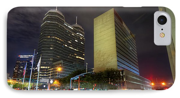 The Texas Medical Center At Night IPhone Case
