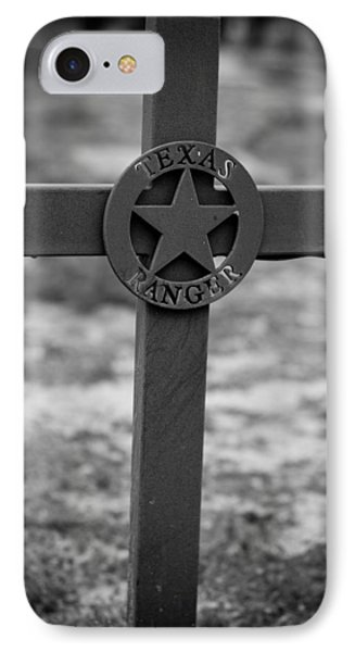 The Texas Ranger IPhone Case by Amber Kresge