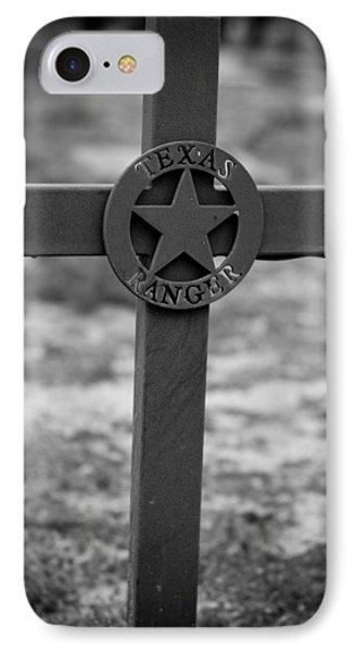 The Texas Ranger IPhone Case