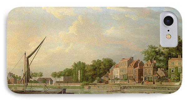 The Thames At Twickenham, 18th Century IPhone Case