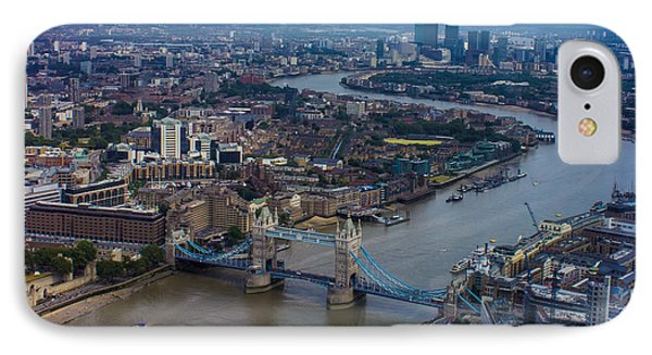 The Thames IPhone Case by Martin Newman