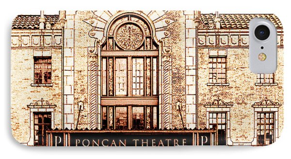 The Theatre Phone Case by Ann Powell