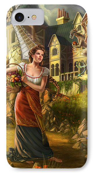 The Thief IPhone Case by Drazenka Kimpel