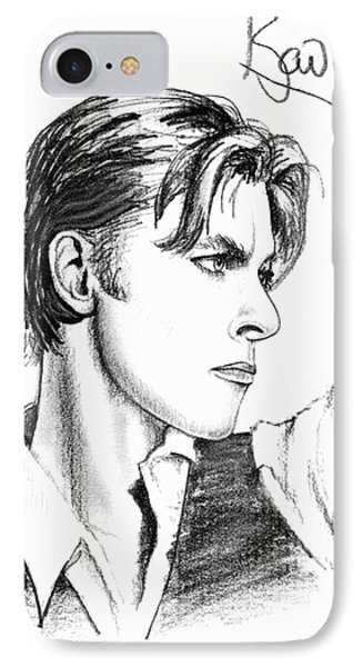 The Thin White Duke Phone Case by Cristophers Dream Artistry