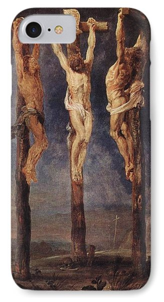The Three Crosses Phone Case by Peter Paul Rubens