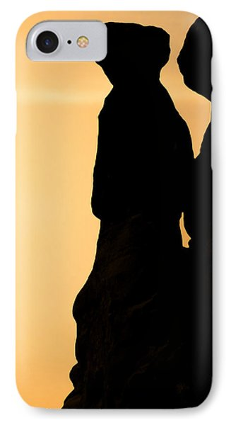 The Three Gossips - Arches National Park Phone Case by Christine Till