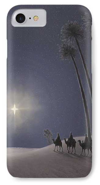 The Three Wise Men Phone Case by Walter Lynn Mosley