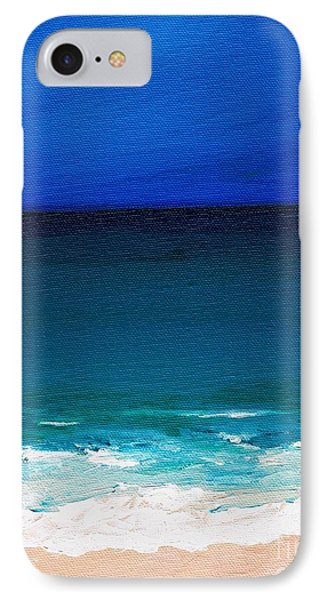 The Tide Coming In Phone Case by Frances Marino