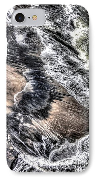 The Tide From Above Phone Case by Bob Hislop