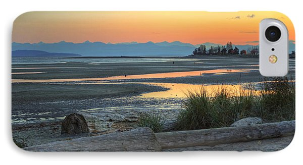 The Tide Is Low IPhone Case by Randy Hall