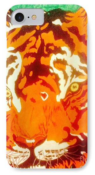 The Tiger IPhone Case by Franky A HICKS