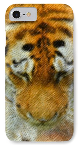 The Tiger IPhone Case by Tommytechno Sweden