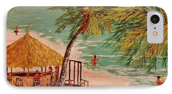 The Tiki Bar Is Open IPhone Case by Mike Caitham