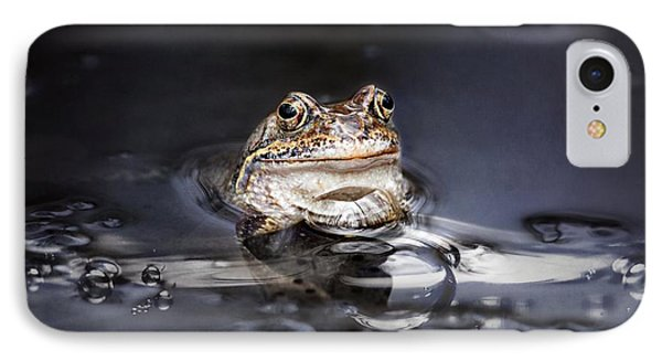 The Toad IPhone Case by Heike Hultsch
