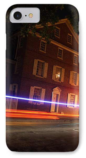 IPhone Case featuring the photograph The Todd House Philadelphia by Christopher Woods